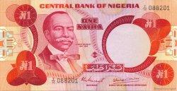 1 Naira NIGERIA  1979 P.19a SPL
