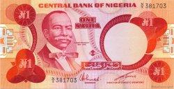 1 Naira NIGERIA  1979 P.19c NEUF