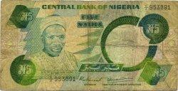 5 Naira NIGERIA  1979 P.20a TB