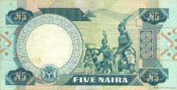 5 Naira NIGERIA  1979 P.20c TTB