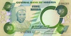 5 Naira NIGERIA  1979 P.20c NEUF