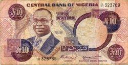 10 Naira NIGERIA  1979 P.21a TB