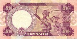 10 Naira NIGERIA  1979 P.21a TTB