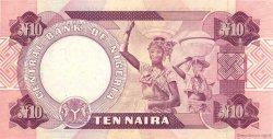 10 Naira NIGERIA  1979 P.21a SUP+