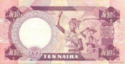 10 Naira NIGERIA  1979 P.21b TTB