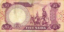 5 Naira NIGERIA  1984 P.24b TB