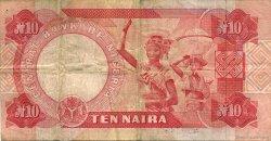 10 Naira NIGERIA  1984 P.25d TTB