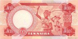10 Naira NIGERIA  2001 P.25f pr.NEUF
