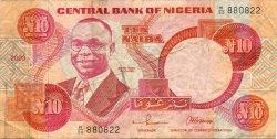 10 Naira NIGERIA  2003 P.25g TB+