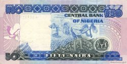 50 Naira NIGERIA  1991 P.27b SUP