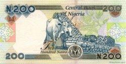 200 Naira NIGERIA  2005 P.29var pr.NEUF