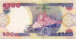 500 Naira NIGERIA  2002 P.30a TTB+