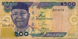 500 Naira NIGERIA  2004 P.30b pr.TB