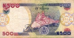 500 Naira NIGERIA  2004 P.30b TTB