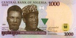 1000 Naira NIGERIA  2005 P.36var pr.NEUF