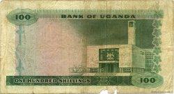 100 Shillings OUGANDA  1966 P.05a TB