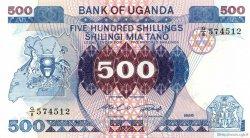 500 Shillings OUGANDA  1986 P.25 NEUF