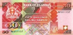 50 Shillings OUGANDA  1996 P.30c NEUF