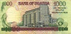1000 Shillings OUGANDA  1991 P.34b TTB