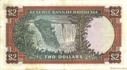 2 Dollars RHODÉSIE  1975 P.31b TTB
