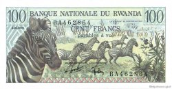 100 Francs RWANDA  1978 P.12a NEUF