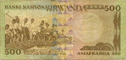 500 Francs RWANDA  1981 P.16a TB