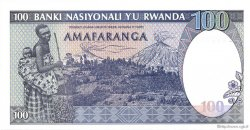 100 Francs RWANDA  1989 P.19a NEUF