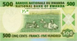 500 Francs RWANDA  2004 P.30 NEUF