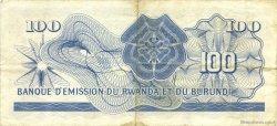 100 Francs RWANDA BURUNDI  1960 P.05 TTB+