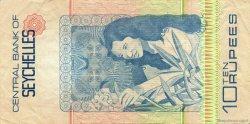 10 Rupees SEYCHELLES  1983 P.28a TTB+