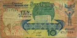 10 Rupees SEYCHELLES  1989 P.32 B