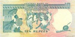 10 Rupees SEYCHELLES  1989 P.32 NEUF