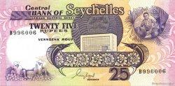 25 Rupees SEYCHELLES  1989 P.33 NEUF