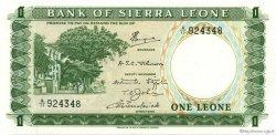 1 Leone SIERRA LEONE  1970 P.01c SPL