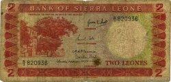 2 Leones SIERRA LEONE  1964 P.02a B