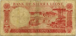 2 Leones SIERRA LEONE  1967 P.02b B