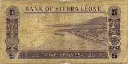 5 Leones SIERRA LEONE  1964 P.03a AB