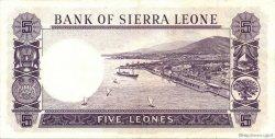 5 Leones SIERRA LEONE  1964 P.03a SUP