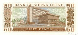 50 Cents SIERRA LEONE  1972 P.04a NEUF