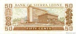 50 Cents SIERRA LEONE  1974 P.04b pr.NEUF