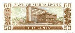 50 Cents SIERRA LEONE  1981 P.04d pr.NEUF