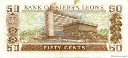 50 Cents SIERRA LEONE  1984 P.04e TTB