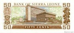 50 Cents SIERRA LEONE  1984 P.04e pr.NEUF