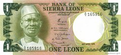 1 Leone SIERRA LEONE  1974 P.05a NEUF