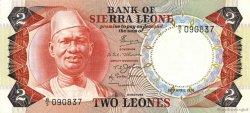 2 Leones SIERRA LEONE  1974 P.06a NEUF