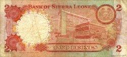 2 Leones SIERRA LEONE  1978 P.06c TB