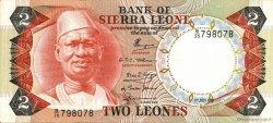 2 Leones SIERRA LEONE  1979 P.06d TTB+