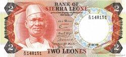 2 Leones SIERRA LEONE  1980 P.06e NEUF