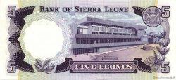 5 Leones SIERRA LEONE  1980 P.07c pr.NEUF