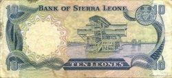 10 Leones SIERRA LEONE  1980 P.08a TB+